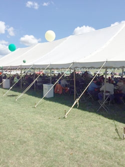 On-site catering for large groups
